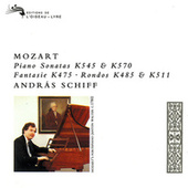 Mozart: Piano Sonatas Nos. 16 & 17 & Other Piano Works by András Schiff
