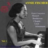 Schumann: Piano Concerto in A Minor, Op. 54, Mozart: Piano Concerto No. 24 - Annie Ficher Vol 1 by Annie Fischer