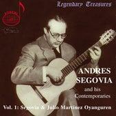 Andres Segovia and His Contemporaries Vol.1: Segovia & Oyanguren de Various Artists