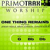 One Thing Remains (Worship Primotrax) [Performance Tracks] - EP de Various Artists