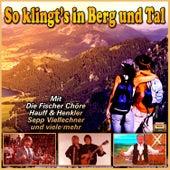 So klingt's in Berg und Tal by Various Artists