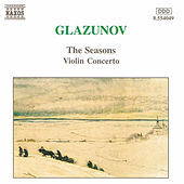 The Seasons/Violin Concerto de Alexander Glazunov