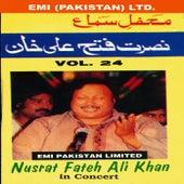Nusrat Fateh Ali Khan In Concert Vol -24 by Nusrat Fateh Ali Khan