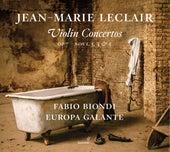 Leclair: Violin Concertos, Op. 7 Nos. 1, 3, 4 & 5 by Fabio Biondi