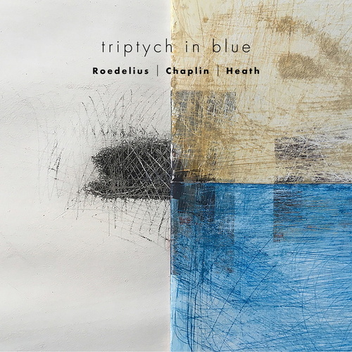 Triptych in Blue by Andrew Heath