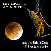 Crickets at Night: Deep and Natural Sleep (50 New Age Lullabies and Calming Background Music for Relax & Restful Sleep (Trouble Sleeping, Insomnia)) by Various Artists