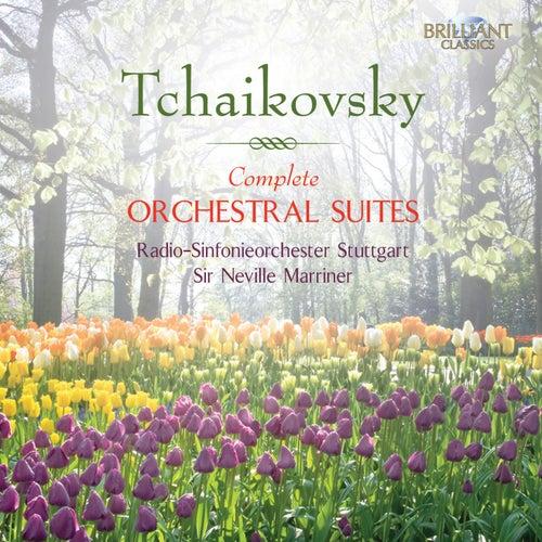 Tchaikovsky: Complete Orchestral Suites by Radio-Sinfonieorchester Stuttgart