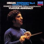 Sibelius: Symphony No. 4; Finlandia; Luonnotar de Vladimir Ashkenazy