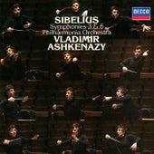 Sibelius: Symphonies Nos. 3 & 6 de Vladimir Ashkenazy