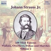 100 Most Famous Works Vol. 2 de Johann Strauss, Jr.