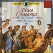 Vivaldi - Tartini - Richter - Pergolesi - Telemann: Flute Concertos by Various Artists