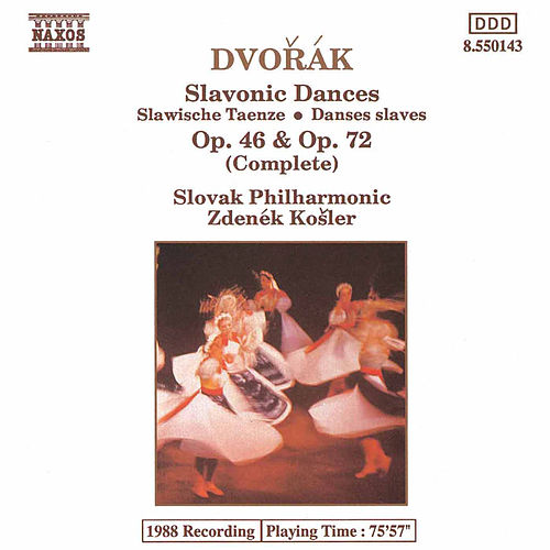 Slavonic Dances Opp. 46 and 72 by Antonin Dvorak