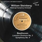 LP Pure, Vol. 36: Beethoven – Leonore Overture No. 3 & Symphony No. 4 von Pittsburgh Symphony Orchestra