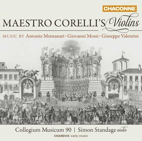 Maestro Corelli's Violins by Simon Standage