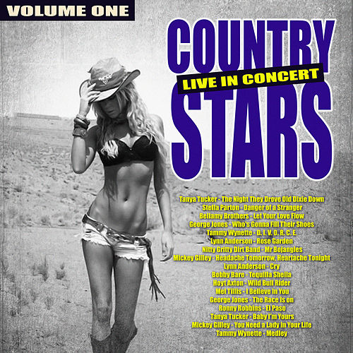 Country Stars - Live in Concert,  Vol. 1 by Various Artists