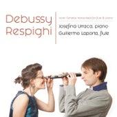 Debussy and Respighi Violin Sonatas Transcribed for Flute and Piano by Josefina Urraca