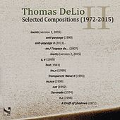Thomas DeLio: Selected Compositions (1972-2015) by Various Artists