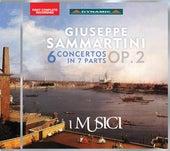 Sammartini: 6 Concertos in 7 Parts, Op. 2 by I Musici