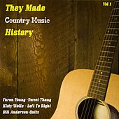 They Made Country Music History, Vol. 1 de Various Artists