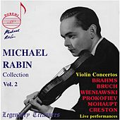 Michael Rabin, Vol. 2: 6 Violin Concertos (Live) by Various Artists