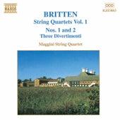 String Quartets Vol. 1 by Benjamin Britten