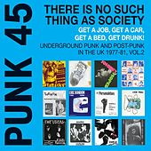 Punk 45: There Is No Such Thing As Society. Get a Job, Get a Car, Get a Bed, Get Drunk! - Underground Punk and Post Punk in the UK, 1977-1981, Vol. 2. by Various Artists
