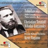 TCHAIKOVSKY: Violin Concerto in D major / Piano Concerto in B flat minor by Kent Nagano