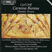 ORFF: Carmina Burana (Chamber Version) by Cecilia Rydinger Alin