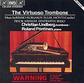 LINDBERG, Christian: The Virtuoso Trombone by Christian Lindberg