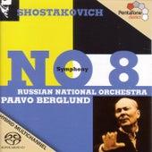 SHOSTAKOVICH: Symphony No. 8 by Paavo Berglund