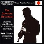 ISHII / HIROSE / MASUMOTO / SHINOHARA: Japanese Recorder Music de Dan Laurin