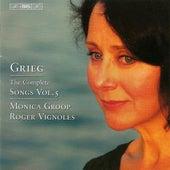 GRIEG: Complete Songs, Vol. 5 by Monica Groop
