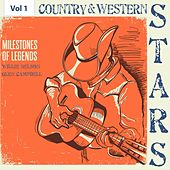Milestones of Legends - Country & Western Stars, Vol. 1 de Various Artists