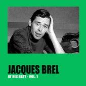 Jacques Brel at His Best Vol. 1 by Jacques Brel