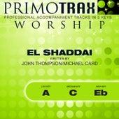El Shaddai (Worship Primotrax) [Performance Tracks] - EP by Various Artists
