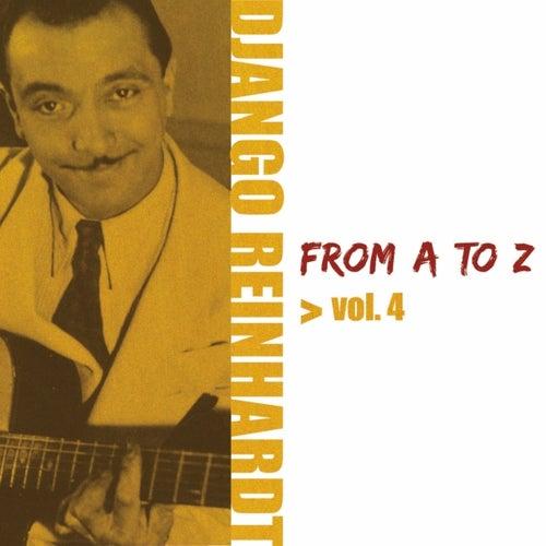 Django Reinhardt From A To Z Vol.4 by Django Reinhardt