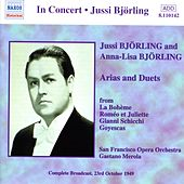Bjorling, Jussi / Bjorling, Anna-Lisa: Arias and Duets (1949) von Various Artists