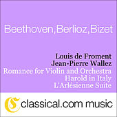 Ludwig van Beethoven, Romance For Violin And Orchestra No. 2 In F Major, Op. 50 by Various Artists