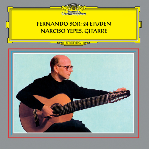 Sor: 24 Etudes For Guitar von Narciso Yepes