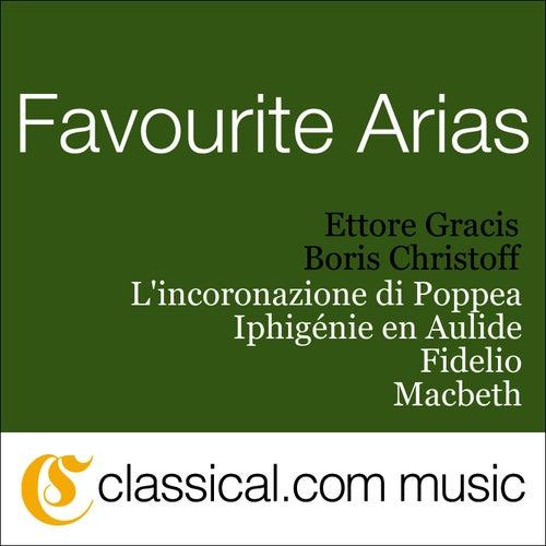 Claudio Monteverdi, L'Incoronazione Di Poppea by Boris Christoff