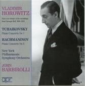 Tchaikovsky and Rachmaninov concertos by Vladimir Horowitz