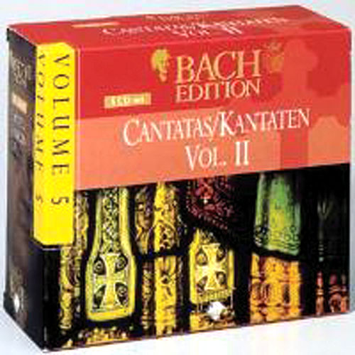 Bach Edition Vol. 5, Cantatas Vol. II  Part: 2 by Various Artists