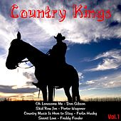 Country Kings, Vol. 1 de Various Artists