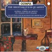 Glinka & Glazunov: Chamber Music by Shostakovich Quartet