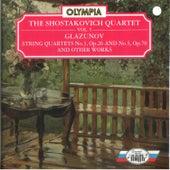 Glazunov: String Quartet No. 3, No. 5 & Other Works by Shostakovich Quartet
