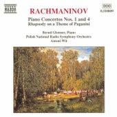Rachmaninov: Piano Concertos Nos. 1 and 4 by Bernd Glemser