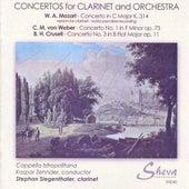 Mozart, Weber & Crusell: Clarinet Concertos von Stephan Siegenthaler
