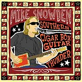 Southern Cigar Box Guitar Thunder by Mike Snowden