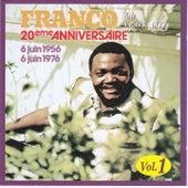 20 ème Anniversaire de l'OK Jazz, Vol. 1 by Franco