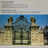 Mozart. Symphony No. 39, in E flat, K.543. Violin Concerto No. 4, in D, K.218 von Johanna Martzy